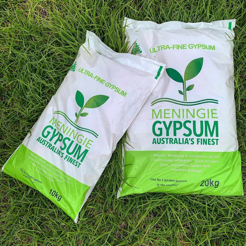 Meningie Gypsum bags